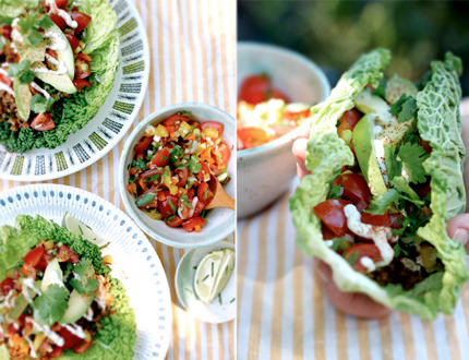 6 easy raw food recipes shape magazine raw tacos forumfinder Image collections