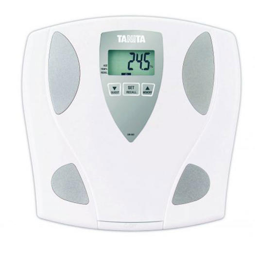 BIA body fat scale to measure body fat percentage