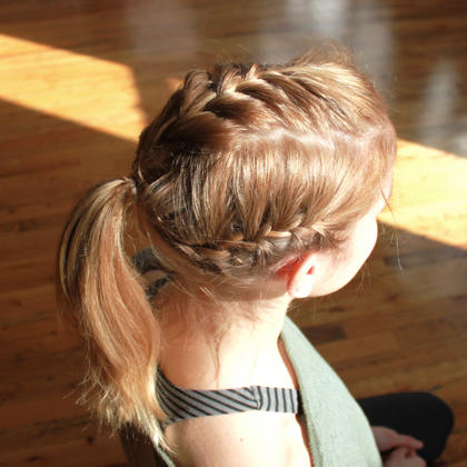 Easy Hairstyles For The Gym How To Instructions Shape