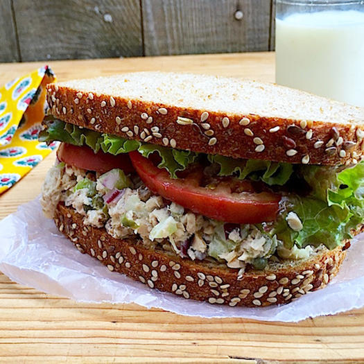 canned salmon how to prepare sandwich