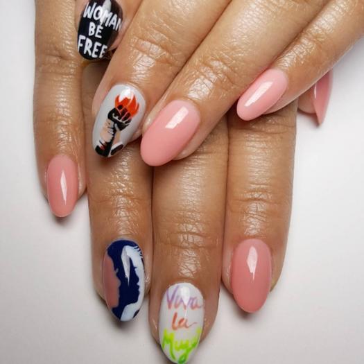 Nail Art Ideas That Represent Social Movements Shape Magazine