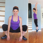 Around the room froggies inner thighs exercise
