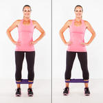 best hip and glute exercise for women band walks