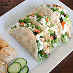 mediterranean diet recipe for greek salad tacos