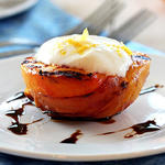 healthy grilled peaches recipe