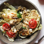 mediterranean diet recipe for roasted cabbage steaks bowl