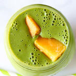 peach mango green smoothie recipe