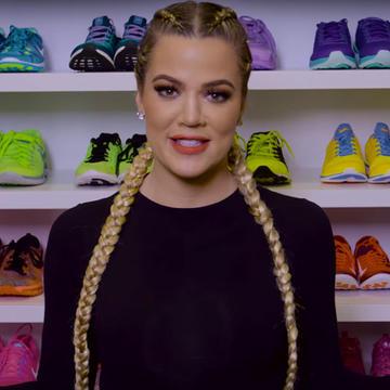 Take A Tour Of Khloe Kardashians Insane Fitness Closet