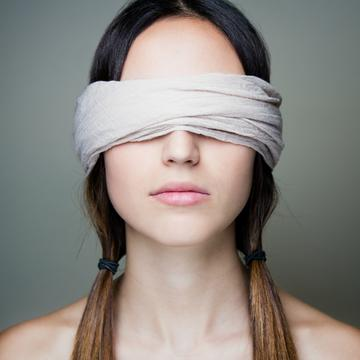 What Its Like To Be Blindfolded During Yoga