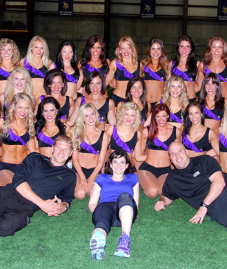 Mn vikings cheerleaders wearing pantyhose