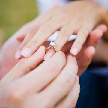 study shows engagement ring cost linked to divorce - Wedding Ring Cost