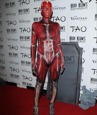 Heidi Klum Halloween Costume 2012