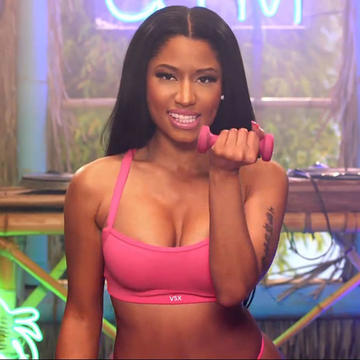 Porn music video nicki minaj pound the alarm