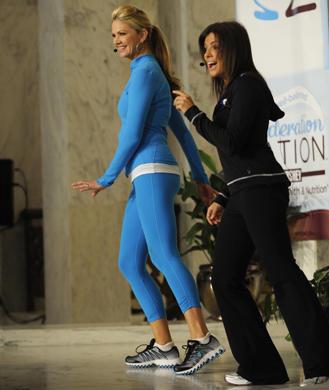 Body pump class celebrity fitness tips