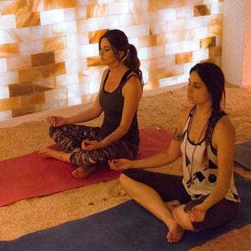 Fitness Trends Salt Yoga Is Now A Thing Shape Magazine