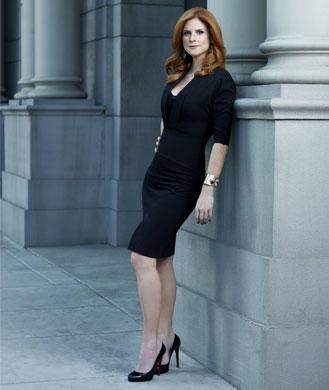 USA Network Suits Star Sarah Rafferty's Stay Slim Secrets ...