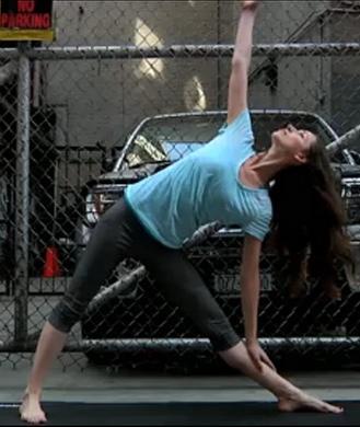 online yoga pose instructions and videos  shape magazine