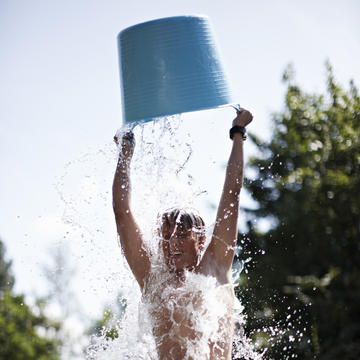 ice bucket challenge for als on facebook and twitter shape magazine