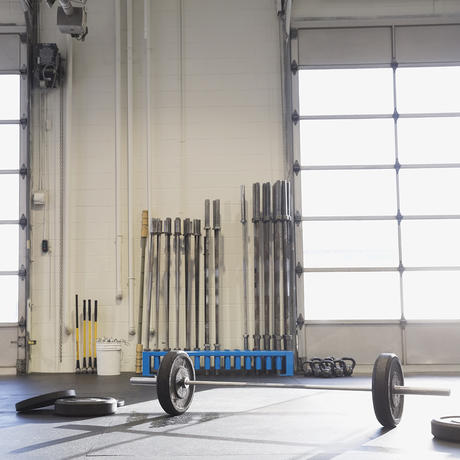 crossfit equipment home gym workouts wods