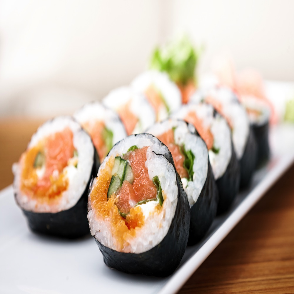 Where to order sushi and rolls 31