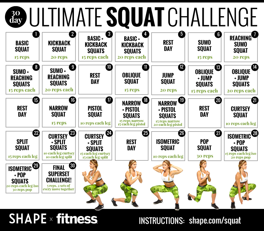 The Squat Challenge Home Edition Pdf