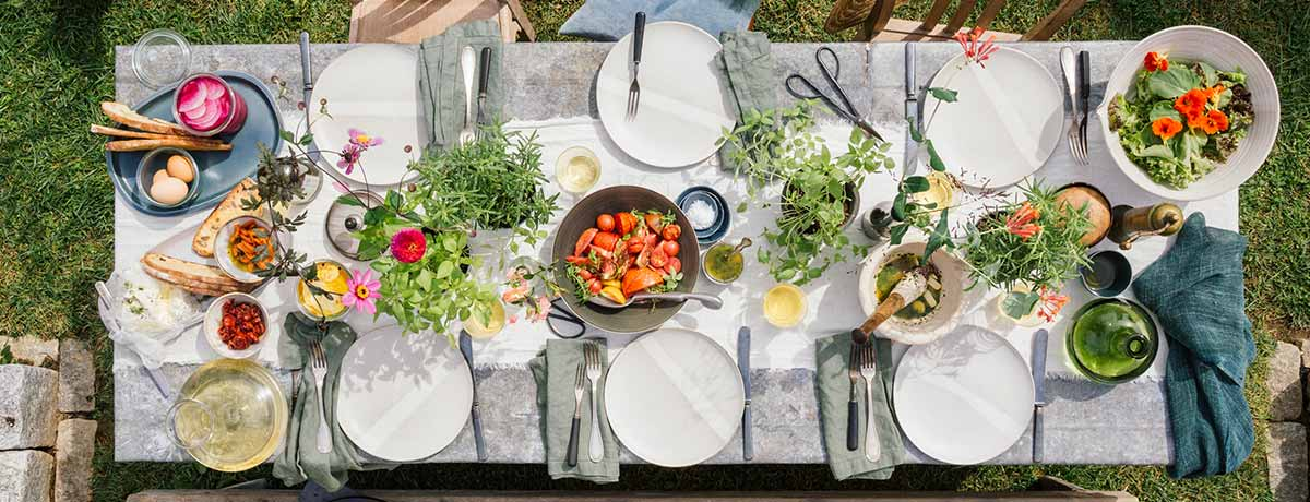 Shop more outdoor dinnerware!