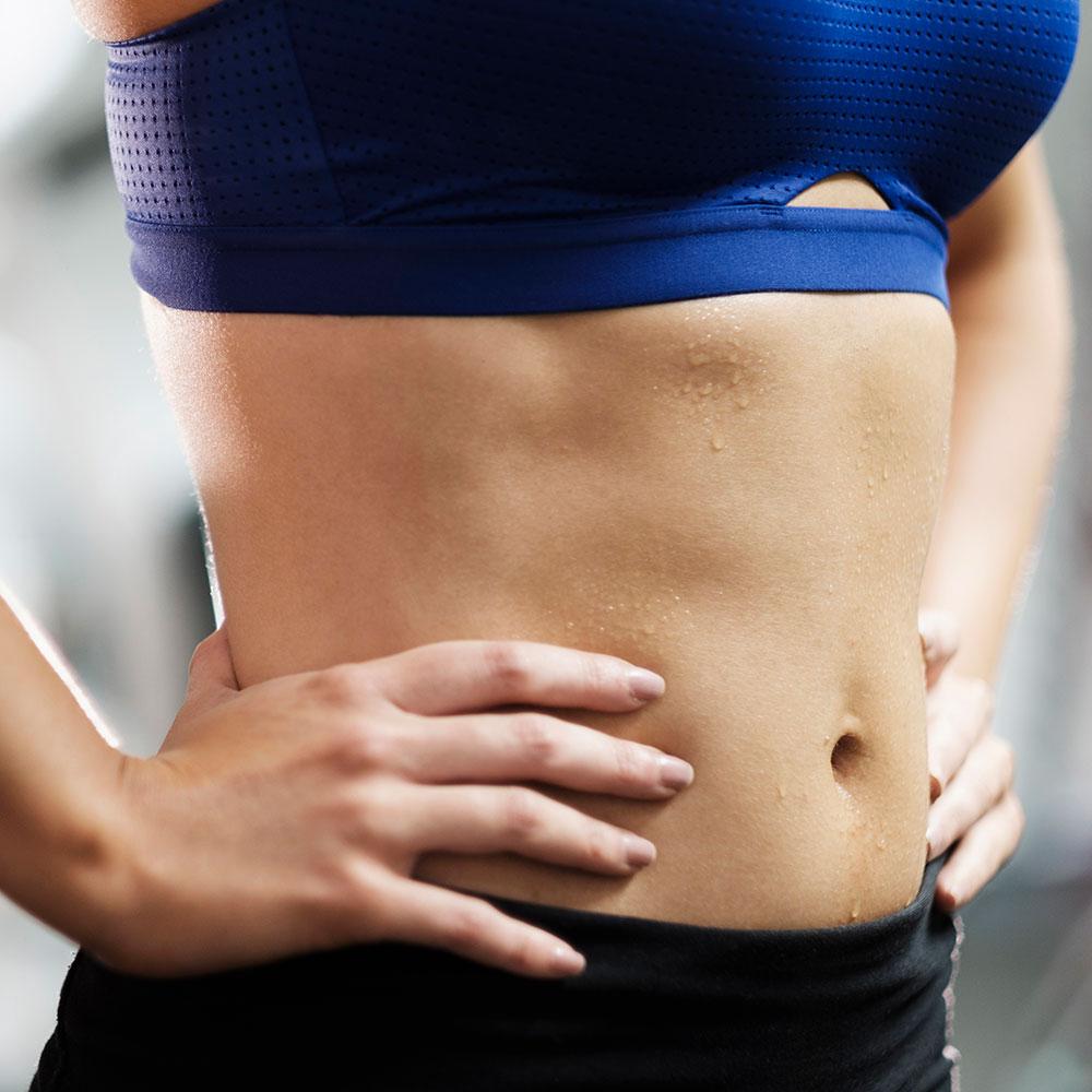 This Woman Lost Her Belly Just By Working Out 10 Minutes A Day