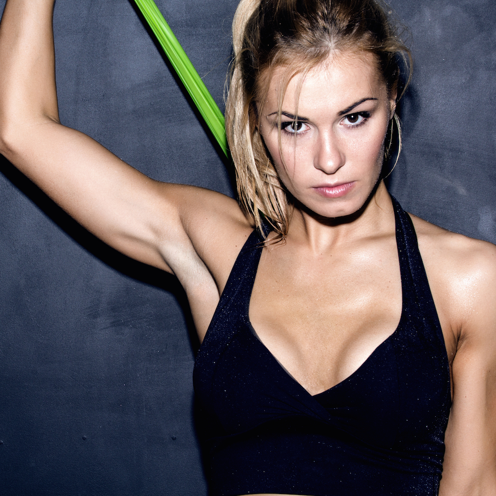 8 barre exercises you can do with resistance bands shape magazine xflitez Gallery